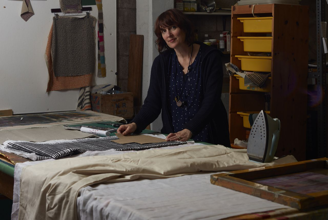 Katie Smith in her studio. Photo by Sam Hartnett