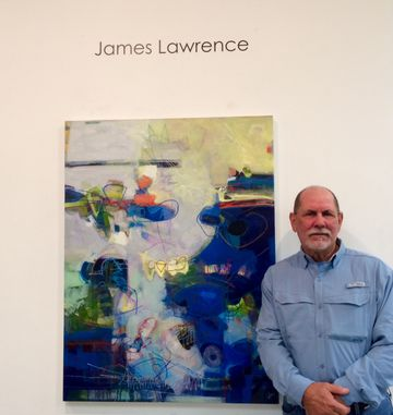 Artist James Lawrence