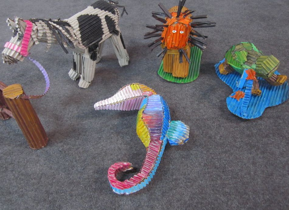 Corrugated Creatures