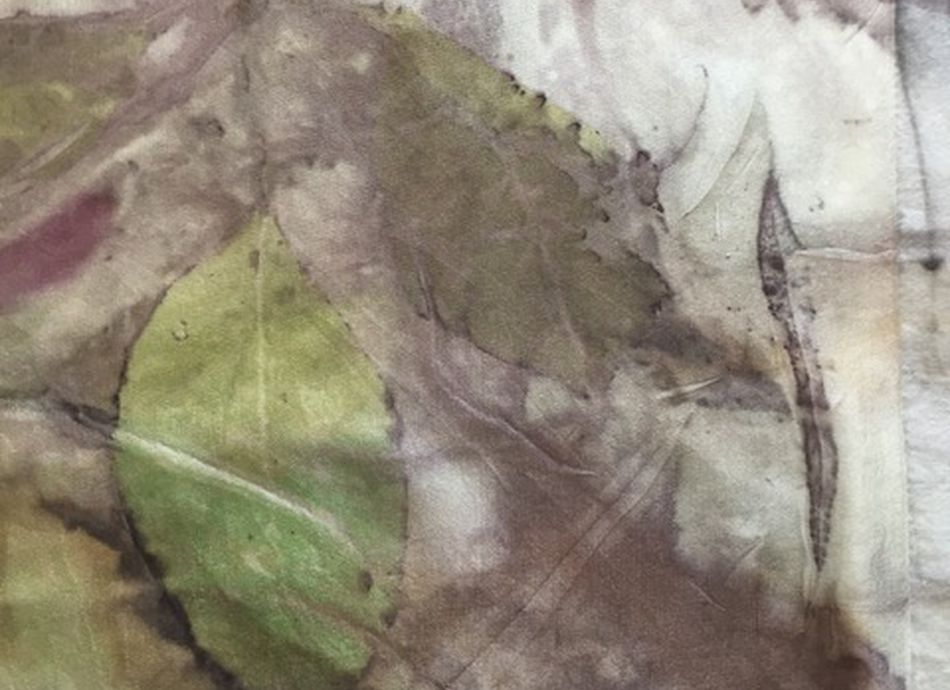 Introduction to Eco Printing on Paper & Textile