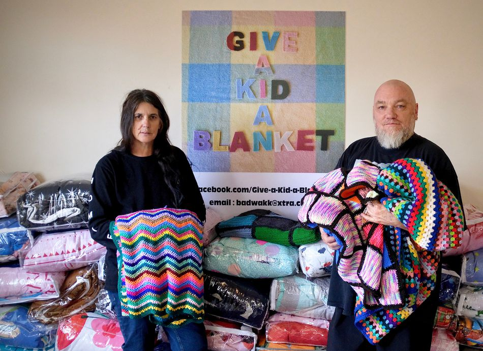 Give a Kid a Blanket: Artist and Community Talk